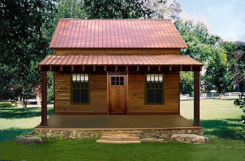 Farm Houses Texas Plan 1185