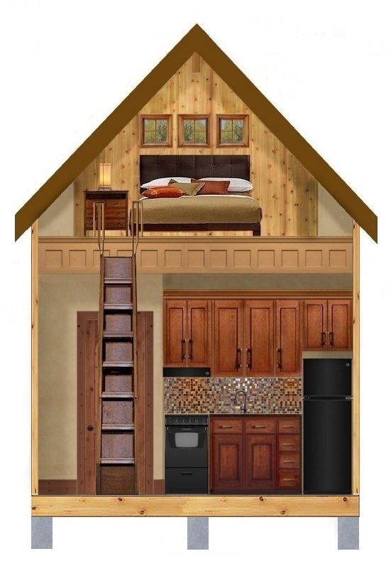 Tiny houses texas plan 273 - Interior for small house ...