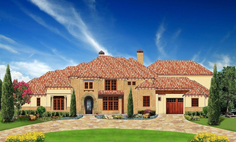 Luxury House Plans Dallas, Mediterranean Plan Designs, Home Builders Dallas  Fort Worth, Million