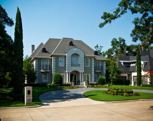 Preston Hollow Home Builder French Renaissance Homes Dallas Luxury Million Dollar